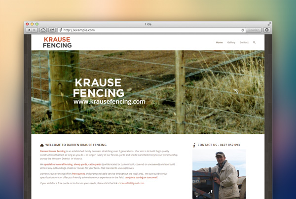 Krause Fencing