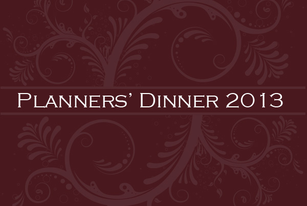 Planners' Dinner 2013 Poster